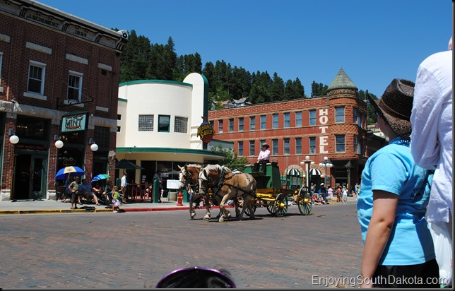 image Days of 76 Main Street Parade in Deadwood SD