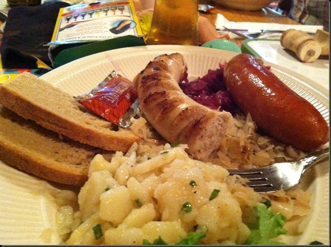 The German Plate from the Alpine Inn in Hill City