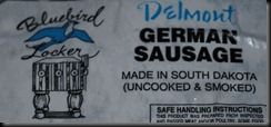 delmont german sausage