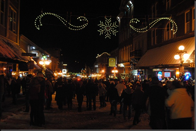 photo of new years eve in Deadwood South Dakota