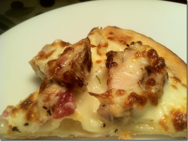 photo garlic chicken pizza from Pizza Lab