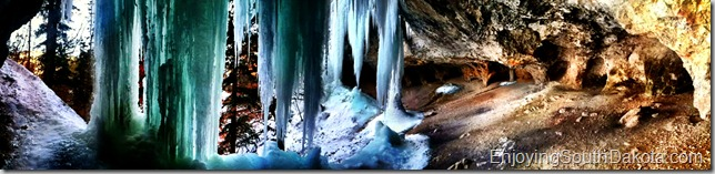 photo of community caves in spearfish Canyon