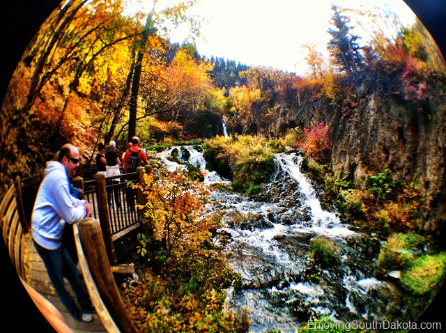 photo of Roughlock Falls in Spearfish Canyon