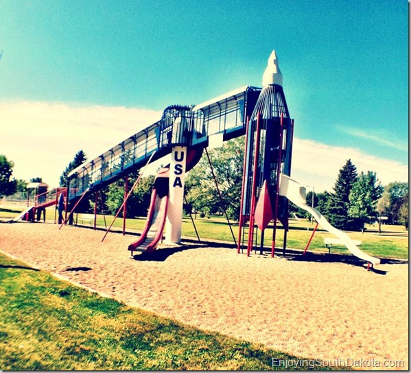 Rocket Slide Park Huron SD