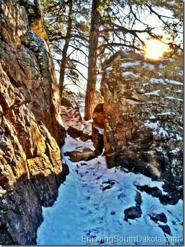 Rapid City SD Winter Hiking