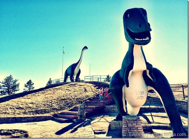 Dinosaur Park in Rapid City South Dakota