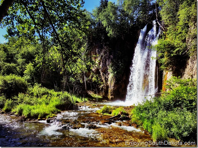 Little Spearfish Falls on the Nature Trail
