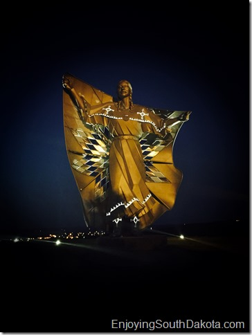 dignity at night statue by chamberlain sd