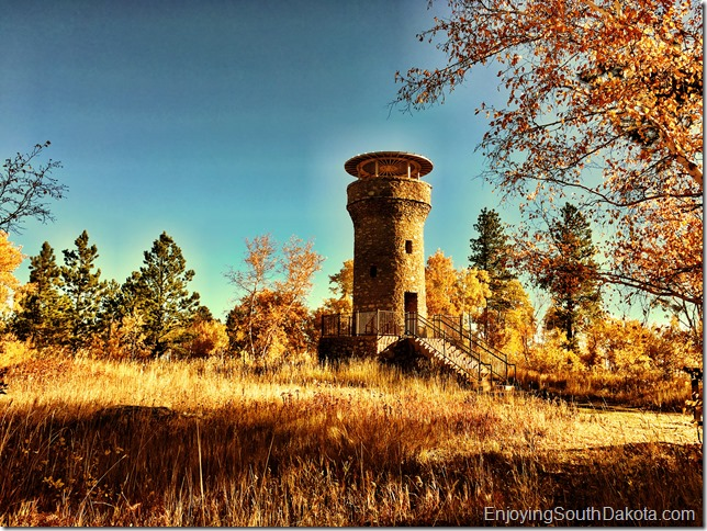 friendship tower on mount roosevelt near Deadwood SD